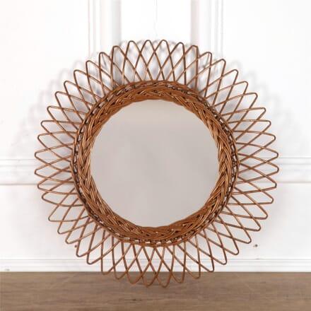 Rattan Sunburst Mirror MI3062187