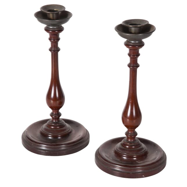 Pair of Wooden Candlesticks DA5558743