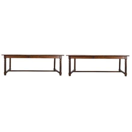 Pair of Oak Drapers Tables TD4713282