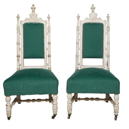 Pair of Gothic Style Side Chairs CH5158147