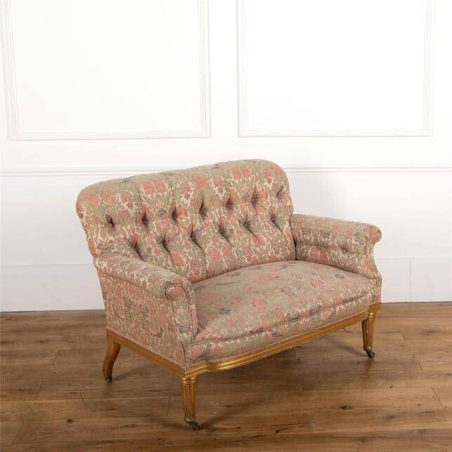 Regency Style Gilt Sofa SB727544