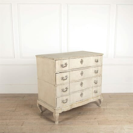 Danish Serpentine Front Commode CC047602