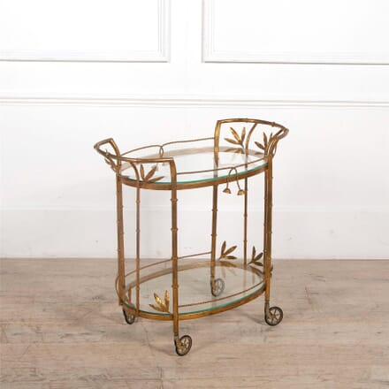 Hollywood Regency Cocktail Trolley TS1561845