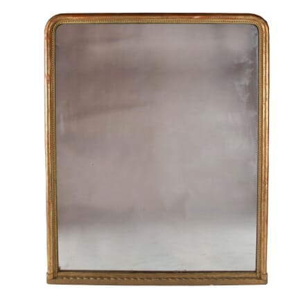 19th Century French Over Mantle Mirror MI7158686