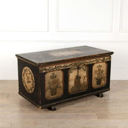 Continental Painted Trunk CB137218