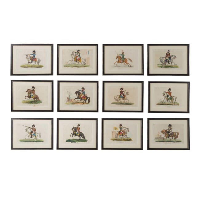 Collection of Early 19th C. Etchings of the Allied Commanders of the Napoleonic Wars WD6160546