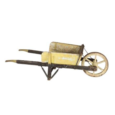 Wooden Wheel Barrow GA1711892