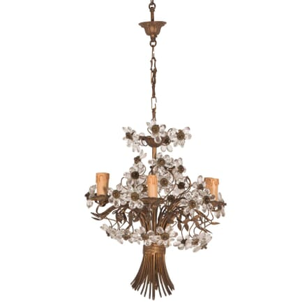 1940s Flower Basket Chandelier LC6059675