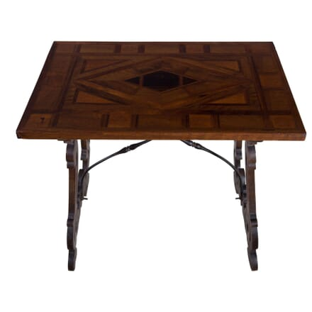 19th Century Italian Walnut Occasional Table TC5255672