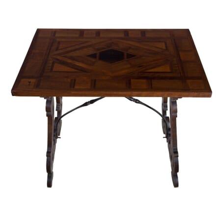 19th Century Italian Walnut Occasional Table TC5255672