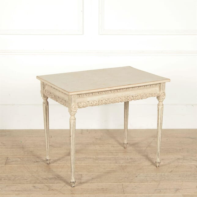 Freestanding 19th Century Swedish Console Table CO607646