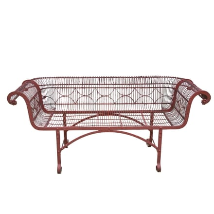 19th Century Regency Period Garden Bench GA4258353