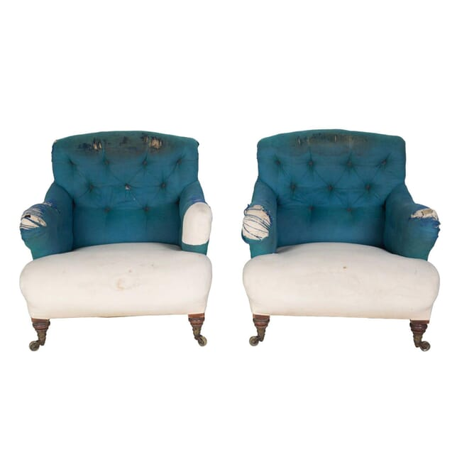 Pair of Howard and Son Armchairs CH2355887