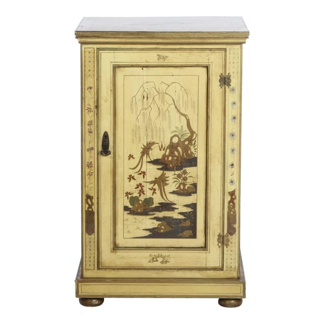 Chinoiserie Pedestal Cabinet c.1910 OF051729