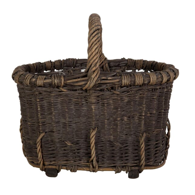 French 19th Century Champagne Basket DA209789