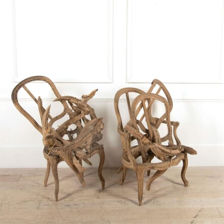 18th Century 'Deconstructed Chairs' Installations DA4461510