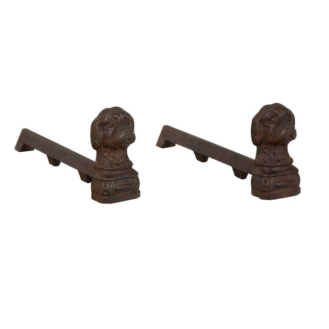 Pair Of Dog Andirons DA1554132