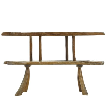 1960s Rustic Console Table CO0661399