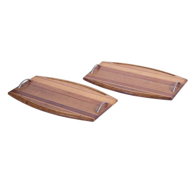 Pair of Wooden Trays DA5758531
