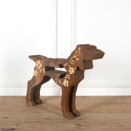 Pointer Dog Sculpture by Tania Holland 2009 DA287371