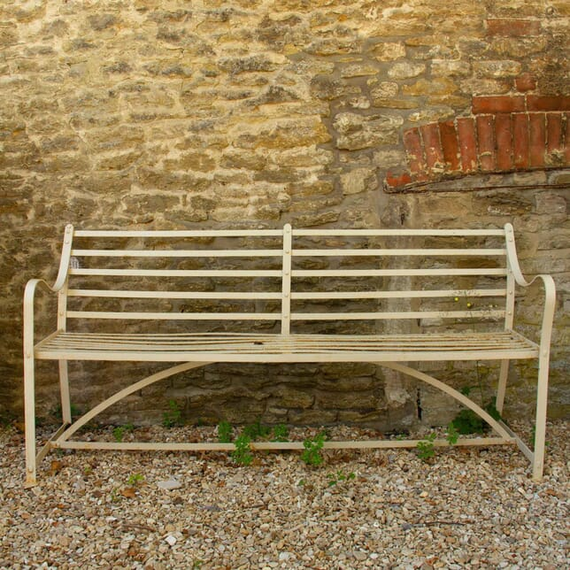 Regency Period Strap Work Garden Bench GA4260666