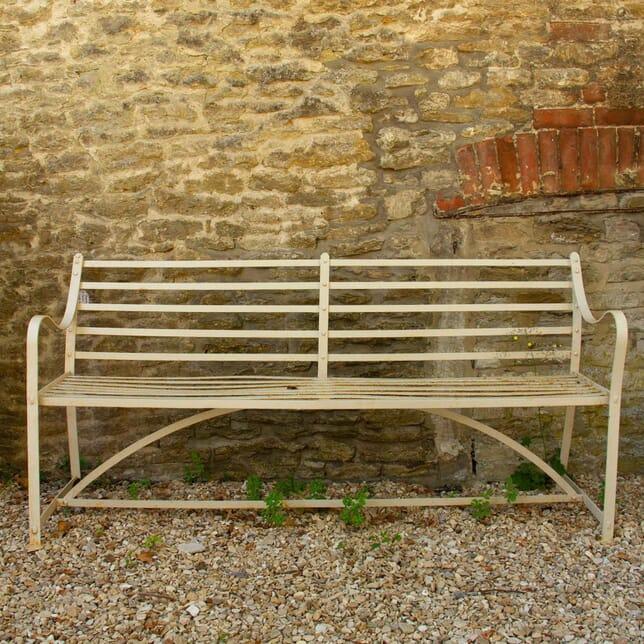 Regency Period Strap Work Garden Bench GA4260666
