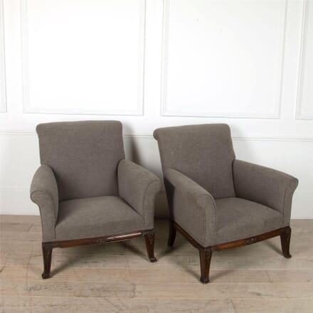 Rosewood Bergere Armchairs CH4861675
