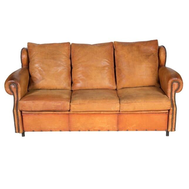 1970s Leather Sofa Bed SB4856641