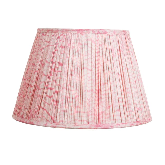 45cm Pink Silk Lampshade LS6657486