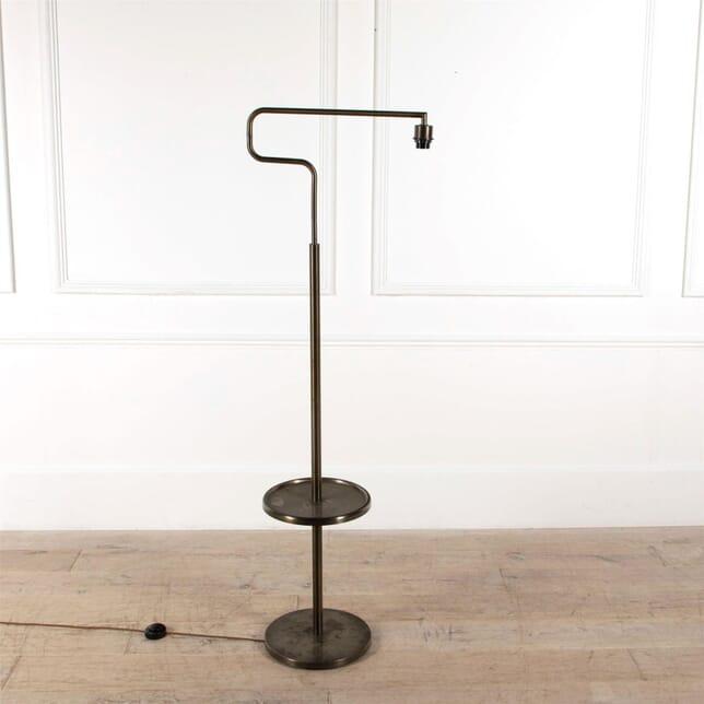Italian Brushed Steel Standard Lamp LF4861488