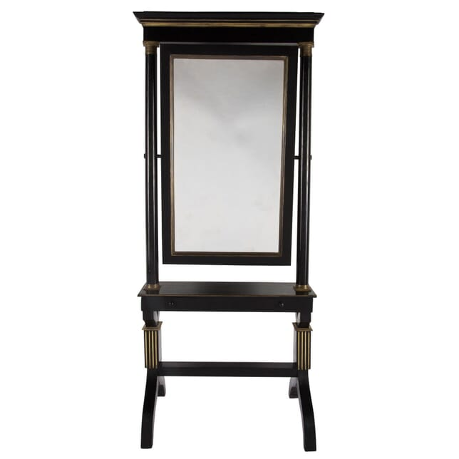 19th Century French Cheval Mirror MI064472