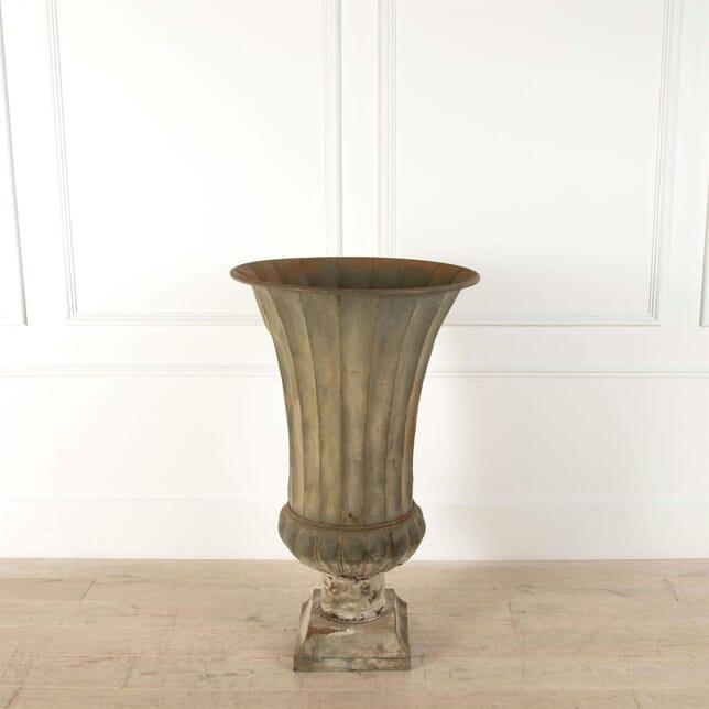 Extra Large 19th Century Zinc Vase DA6061444