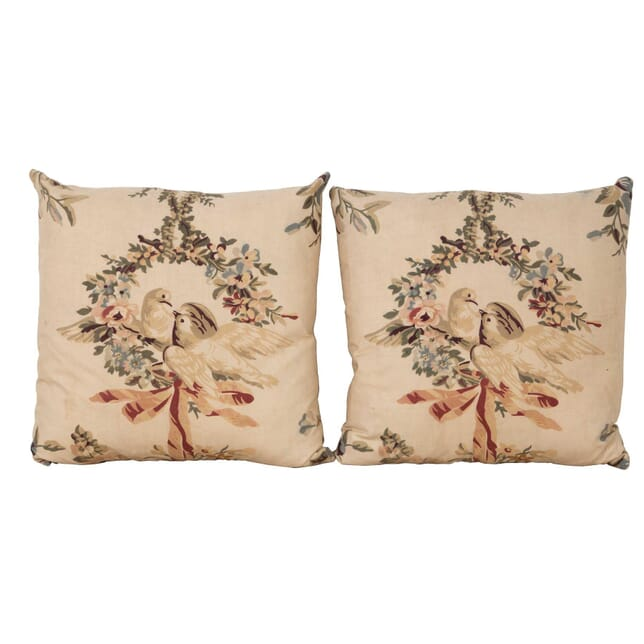 Pair of Kissing Doves Cushions RT1560396