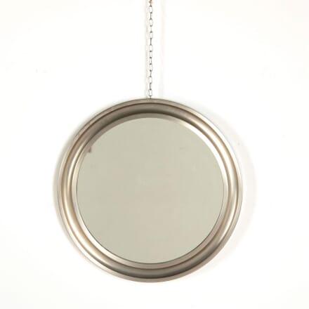 Small Circular Steel Framed Mirror by Sergio Mazza MI307329
