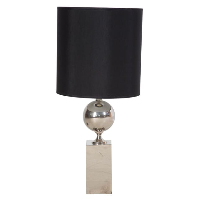 Nickel Plated Table Lamp by Philippe Barbier LT308943