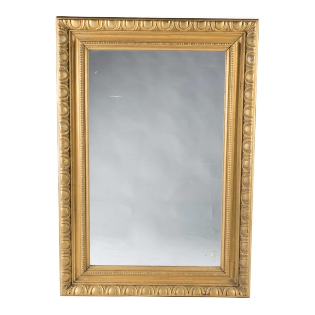 Egg and Dart Giltwood Mirror MI5457938