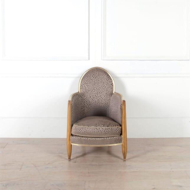 Art Deco Club Chair Attributed to Paul Follo CH2960984