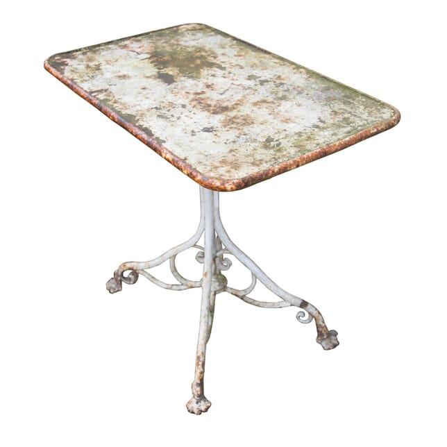 Metal Garden Table GA2055344