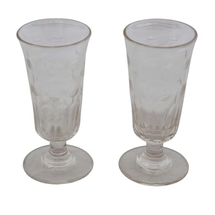 Pair of 19th Century French Absinthe Glasses DA1555416