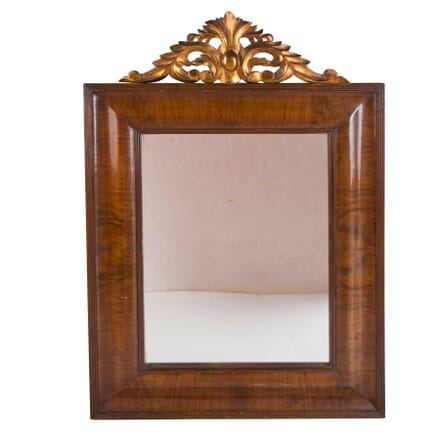 Walnut and Gilt Mirror MI5258901