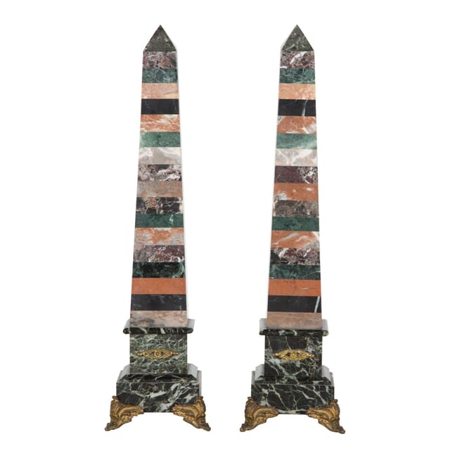 Pair of Marble Obelisks DA289414