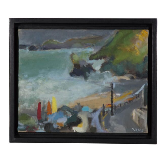 Storm Approaching Llangrannog by Sara Lewis WD2710510