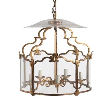 French Glass Lantern LL1254006