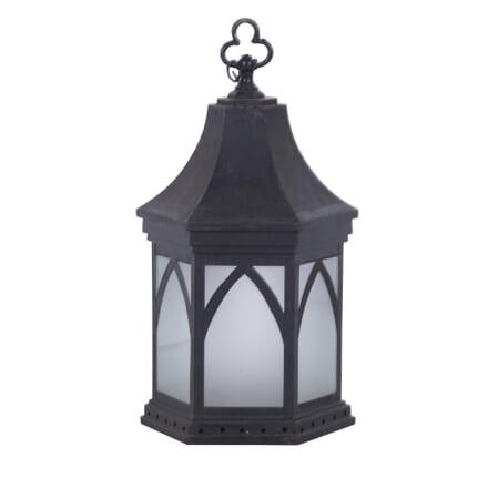 Gothic English Painted Tin Lantern LL3660168