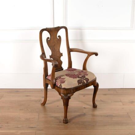 19th Century Walnut Armchair CH4762176