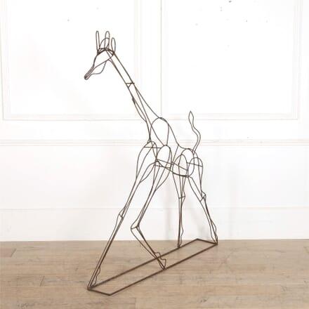 Giraffe Topiary Frame GA157039