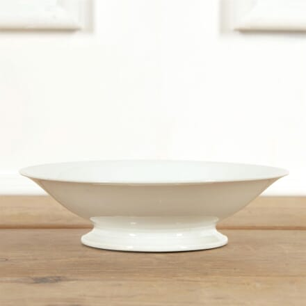 White French Porcelain Low Raised Fruit Bowl DA4461551