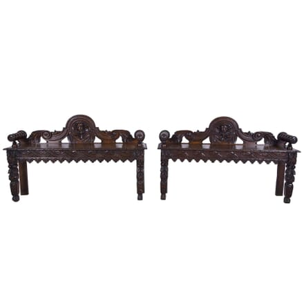 Pair of 19th Century Window Seats SB7260213