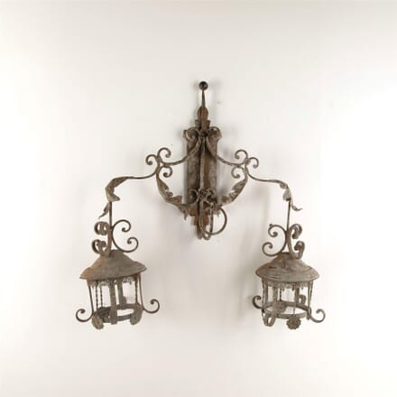 Decorative vineyard wall light LW607659