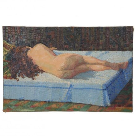 Nude Oil Painting c.1960 WD152390